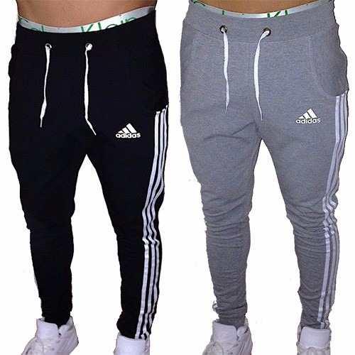 c3a6e90b78ee4 Pantalon Jogging Babucha Chupin Hombre Adidas Gimnasia Depor ...