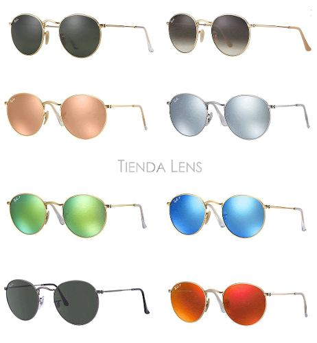 ... sale uk 62ed8 7268d Anteojos Ray Ban Rb3447 Round Metal Original Lennon  Redondos ... dded47df3b