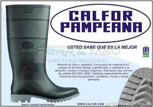 Bota De Lluvia Calfor Pampeana Oferton!! » Mayorista de ropa e5fb915b95380