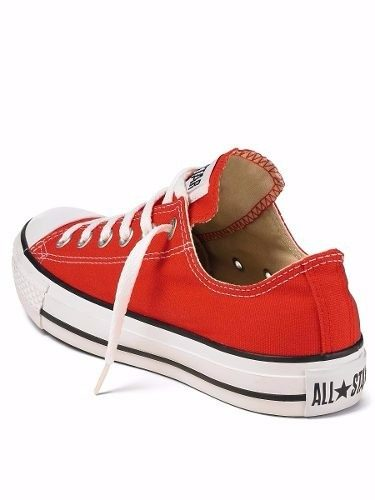 zapatillas all star rojas