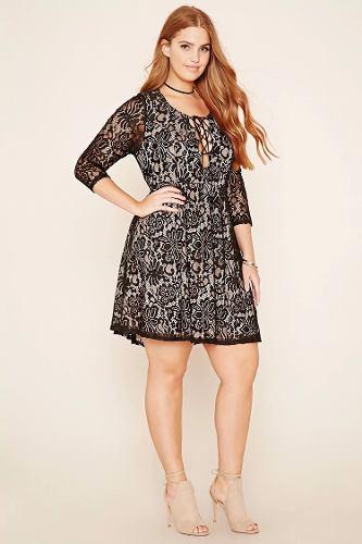 http://articulo.mercadolibre.com.ar/MLA-633625237-vestido-de-fiesta-forever-21-encaje-talle-especial-_JM