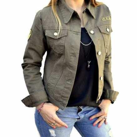 http://articulo.mercadolibre.com.ar/MLA-632378010-campera-de-jean-verde-militar-con-escudos-mujer-the-big-shop-_JM