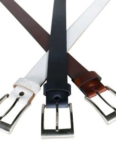 http://articulo.mercadolibre.com.ar/MLA-612309864-cinturon-liso-cuero-negro-choco-blanco-almacen-de-cueros-_JM