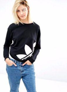 Buzo Sweatshirt adidas Light - Cuello Redondo