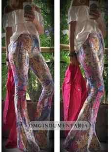 Calzas Leggins Lycra Mujer Importadas Oxford Chupin Estampa
