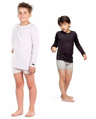 Camiseta Termica Dufour ... Remera Manga Larga Niños