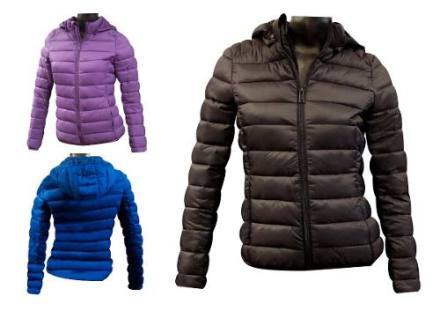 Campera Inflable Corta Impermeable Capucha Desmontabl Nofret