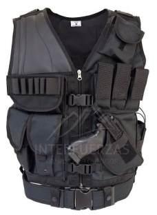 Chaleco Tactico Policial Tipo Swat Grupos Especiales Elite