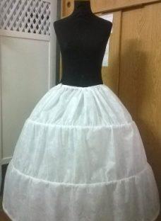 Enagua C/aros - Miriñaqe Para Vestido Fiesta