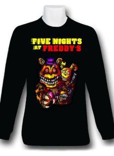 Five Nights At Freddy Remera Manga Larga