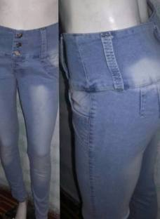 Jeans Elastizados Tiro Alto/medio