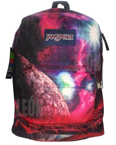 Mochila Jansport Multi Cosmic Waters High Stakes Original