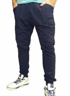 Pantalon Babucha De Algodo Frizado Gym