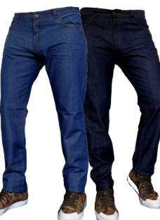 Pantalon Jeans Semi Chupin 3 Colores Talle 38 Al 50 Jeans710