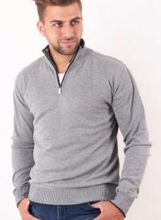 Sweater Hombre Con Cierre Frank #1168 Outside Tokyo Inv18