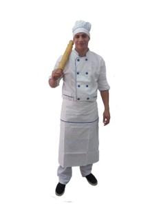 Uniformes De Gastronomía Chaqueta + Faldón Y Gorro