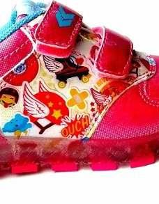 Zapatillas Soy Luna C/ Luces Mundo Moda Ki Licencia Original