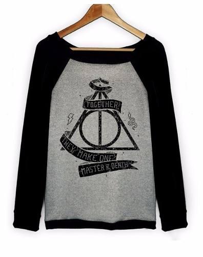 Buzos Hoddies Harry Potter  En Lanilla Excelente Calidad