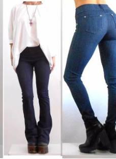 Calza Simil Jeans