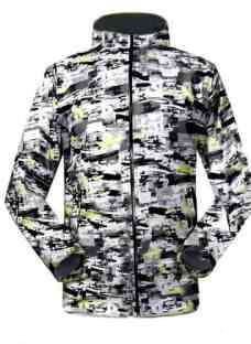 Campera Impermeable Térmica Softshell Lluvia Nieve Jeans710