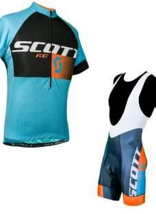 Conjunto Ciclismo Scott Rc Calza Y Jersey Colores