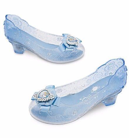 Disney Store Zapatitos De Todas Las Princesas!