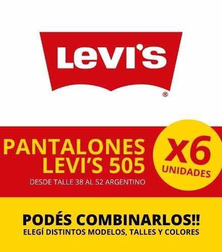 Jean Lev`s 505  - Solo Por Media Docena