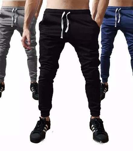 Joggers Casuales Pantalon Chupin Pantalones Joggin Entallado