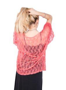 Kimono De Encaje Ideal Para Fiestas Saco Con Recortes Axioma