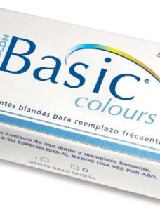 Lentes De Contacto Color Basic Colours Uso Mensual