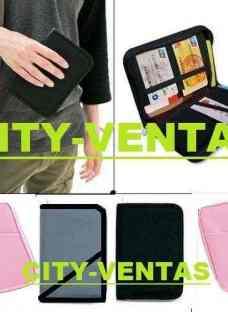 Organizador De Viaje Pasaporte Tarjetero Documen City-ventas