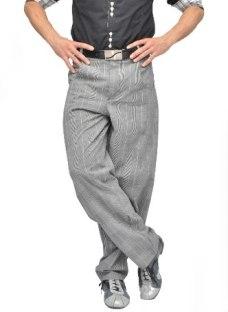 Pantalones Clásicos 4 Corazones Hombre   Tango Salsa Rock
