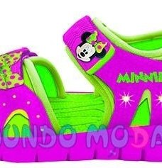 Sandalias Minnie Y Mickey Mouse 2017 Mundo Moda Kids