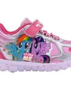 Zapatillas Pequeño Little Pony Con Luces Footy Mundo Manias