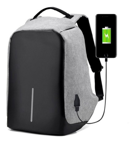 Mochila Porta Notebook Inteligente Anti Robo 16 Reforzada Tiras Y Espalda Acolchadas By Happy Buy