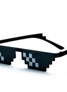 Lentes Gafas De Sol Pixel Deal With It - Local Villa Crespo
