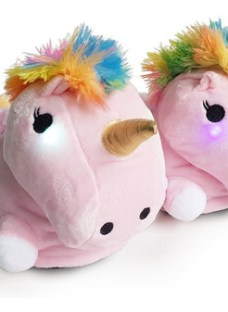 Pantufla Mujer Unicornio Con Luces Sweet Dreams Livianas