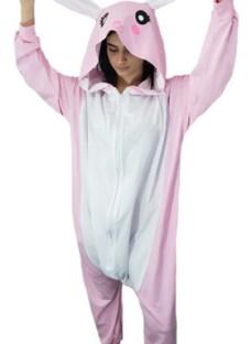 Pijama / Disfraz Oso Panda Conejo Unisex Kigurumi Algodon