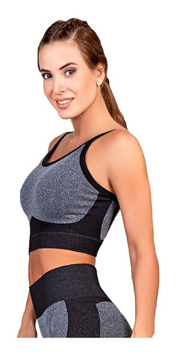 Top Deportivo/gym Anticelulitis Mujer S/costura Cocot 5211