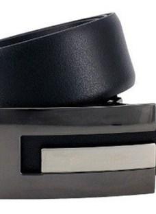 Cinturon Talle Especial Cuero Reversible Hombre Hasta 170 Cm
