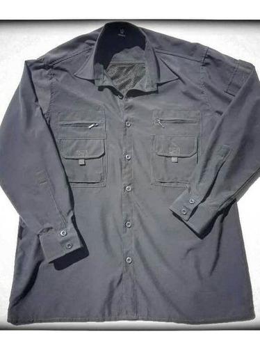 Camisa Jorox Trekking Pesca Outdoor Secado Rápido