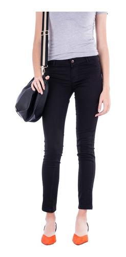 Pantalon Chupin De Gabardina Mujer - Colores - B A Jeans