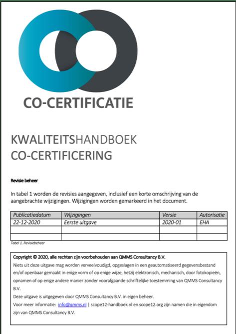 handboek-co-certificering-kwaliteitshandboek