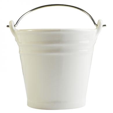 ceramic presentation bucket small