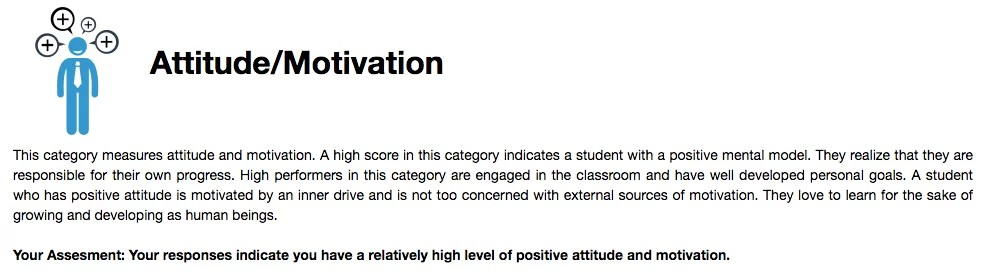 Student Positive Attitude and Motivation