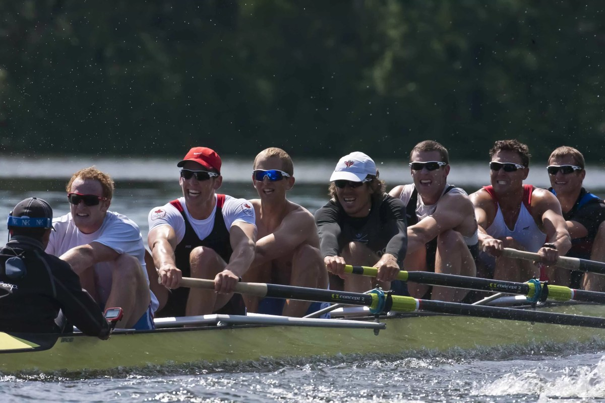 Jeremiah Brown - The Four Year Olympian - Rowing in An Eight