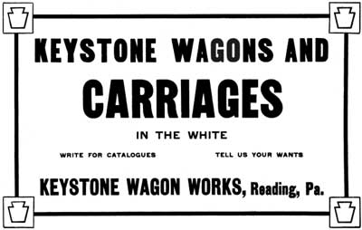 Keystone Wagon Works, Keystone Wagon Co., Keystone Vehicle