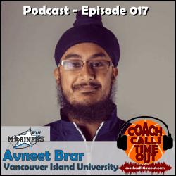 Avneet Brar, Vancouver Island University - Coach Calls Timeout Basketball Coaching Podcast
