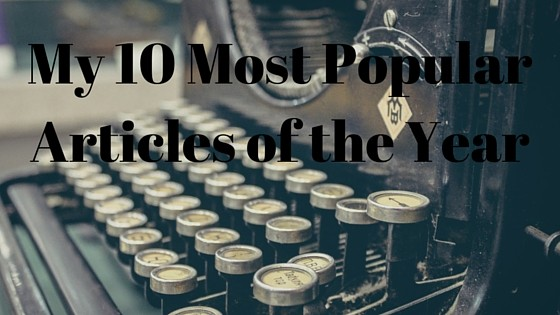 Chad Carson 10 Most Popular Articles of the Year