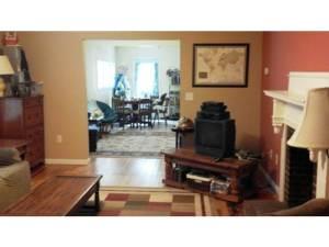 rental house appreciation - living room - after